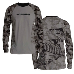 Striper Ambush Fish Shirt Series - Long Sleeve
