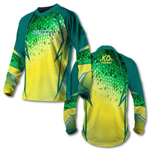 *Mahi Scale Vented Shirt Series - Long Sleeve
