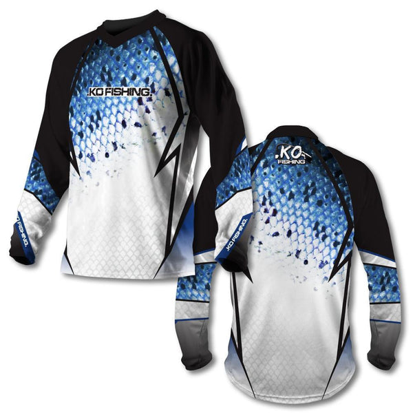 *Blue Scale Vented Shirt Series - Long Sleeve Fishing Koss Outdoors