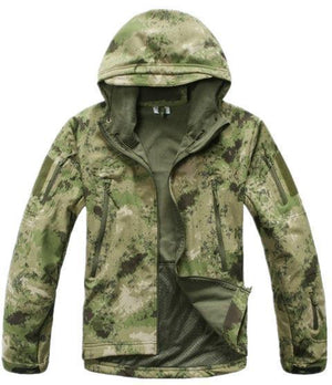 Tactical / Hunting Softshell Camouflage Jacket