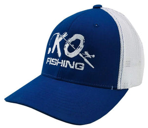 KO Fishing Flexfit Hat Fishing Koss Outdoors