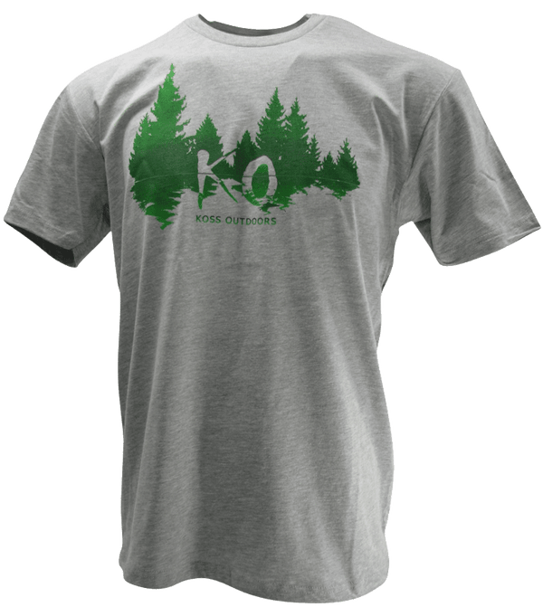 KO Woods Logo T-Shirt Hunting Koss Outdoors
