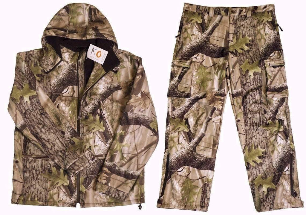 KO Ultra Quiet Hunting Jacket and Pants Set