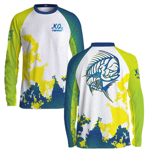 Mahi Fish Scale Shirt Series - Long Sleeve