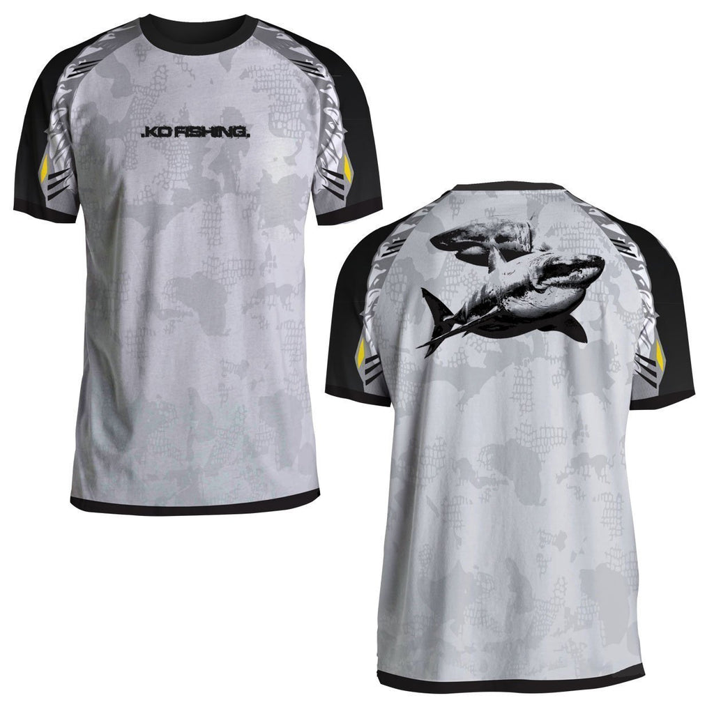 Shark Performance Fish Shirt Series - Short Sleeve