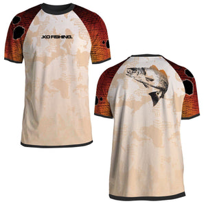 Redfish Performance Fish Shirt Series - Short Sleeve