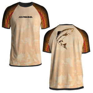 Trout Performance Fish Shirt Series - Short Sleeve