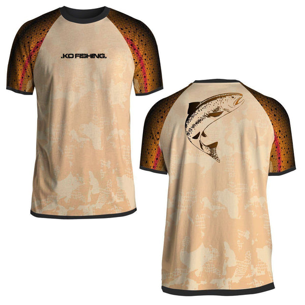Trout Performance Fish Shirt Series - Short Sleeve Fishing Koss Outdoors