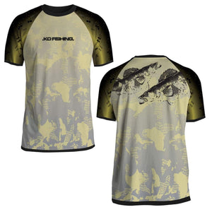 Walleye Performance Fish Shirt Series - Short Sleeve Fishing Koss Outdoors