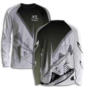 Snook Fish Scale Shirt Series - Long Sleeve Fishing Koss Outdoors