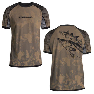 Snook Performance Fish Shirt Series - Short Sleeve