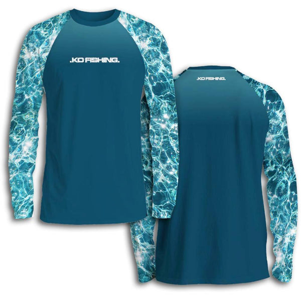 ***Limited Edition*** Water Shirt Series - Long Sleeve Fishing Koss Outdoors