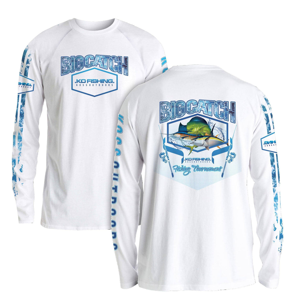 Blue Tournament Shirt Series - Long Sleeve