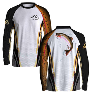 Trout Fish Scale Shirt Series - Long Sleeve Fishing Koss Outdoors