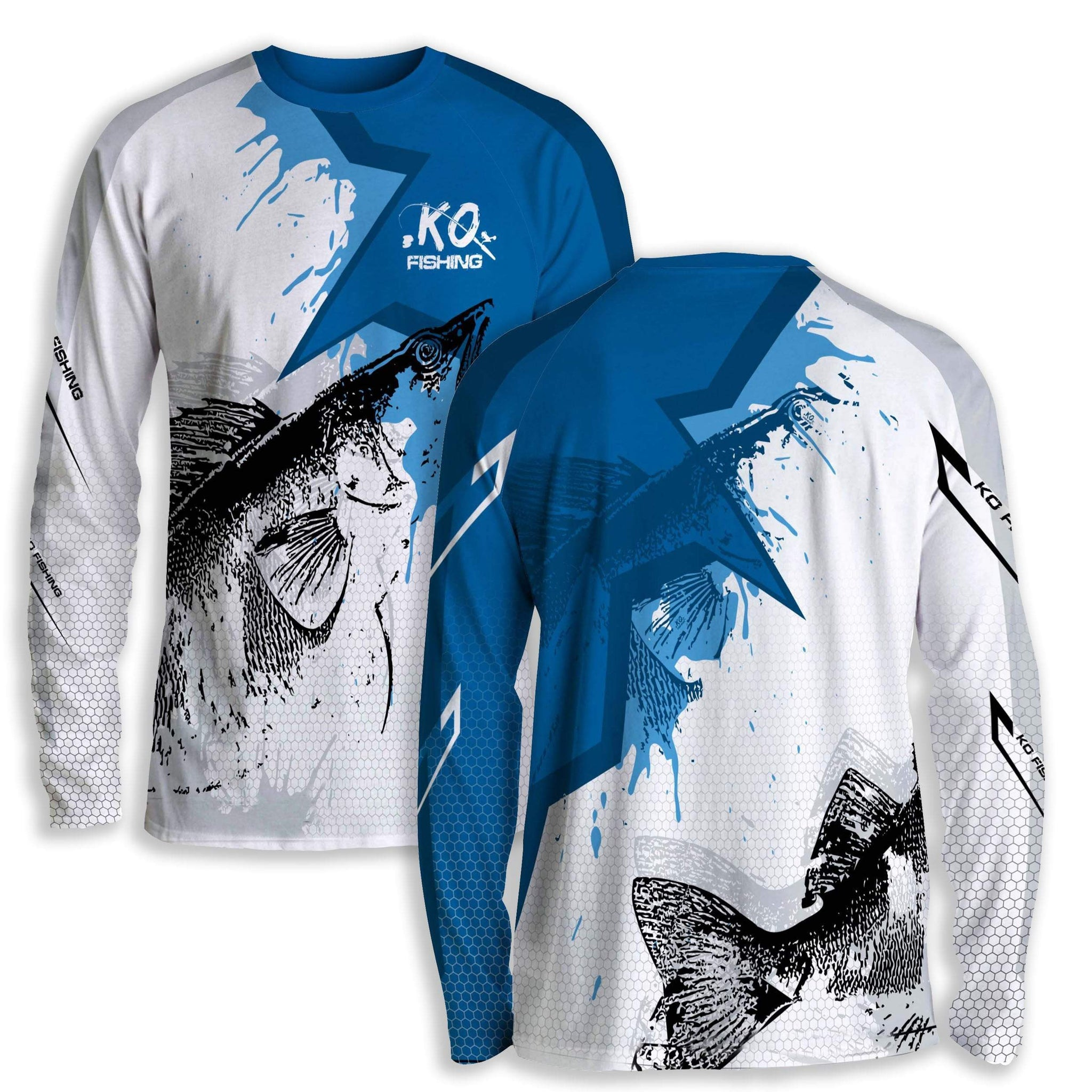 Fishing clothes koss outdoors for Fish scale shirt