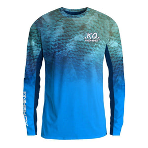 ***Scales & Water Shirt - Long Sleeve