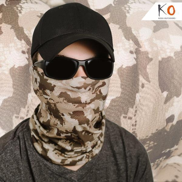 Ambush Camouflage Face Shield Hunting Koss Outdoors