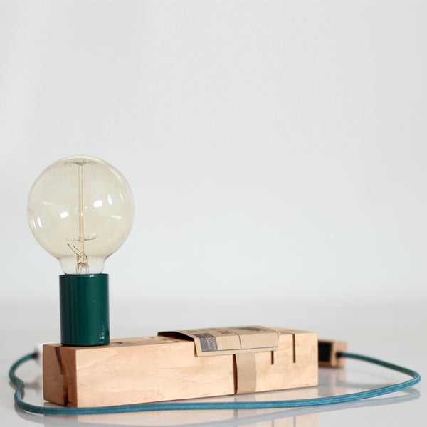FABRIK - Electric lamp with pencil holder