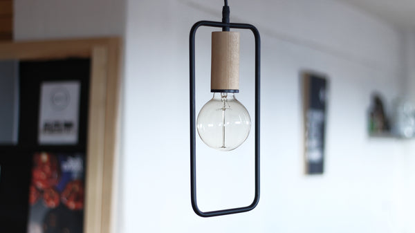 ACRUX - Metal pendant light