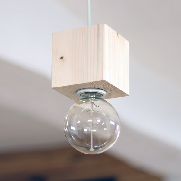 TESS 02 - Wood pendant light
