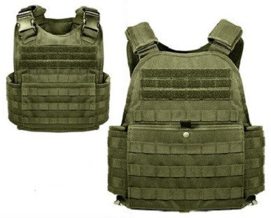 Tactical Molle Plate Carrier Vest