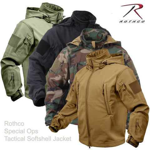Rothco Special-Ops Tactical Soft-Shell Jacket