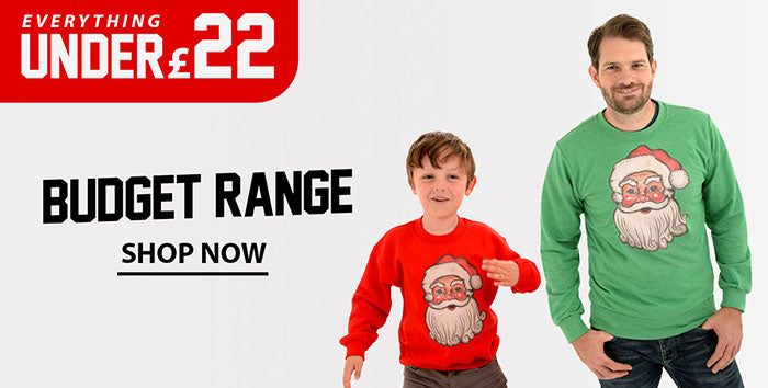 Budget Christmas jumpers