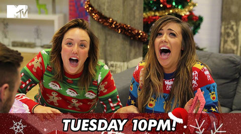 Geordie Shore in Christmas Jumpers