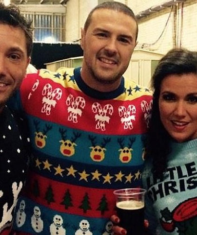 Paddy in the Boxing Day Mashup Christmas Jumper