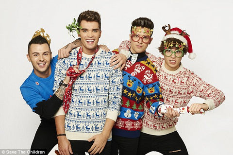Union J Christmas Jumpers