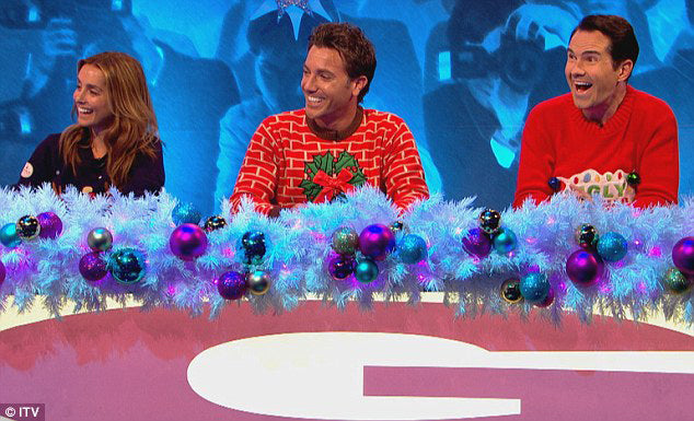Celebrity Juice Christmas Special - what time is it on TV ...