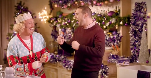Keith Lemon in the Nutcracker Christmas Cardigan
