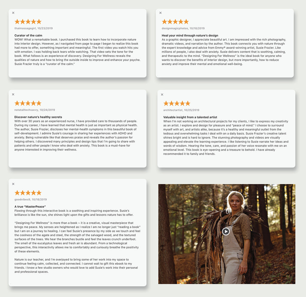 Ratings and Reviews of Designing For Wellness