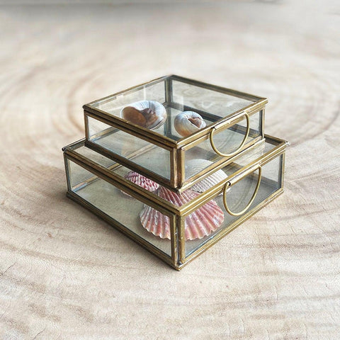 Brass Keepsake Boxes