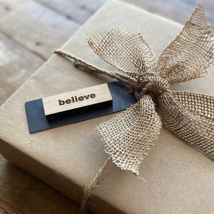 Intention Block™ Gift Tag