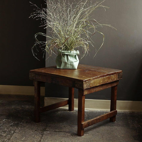 Reclaimed Wood Accent Table