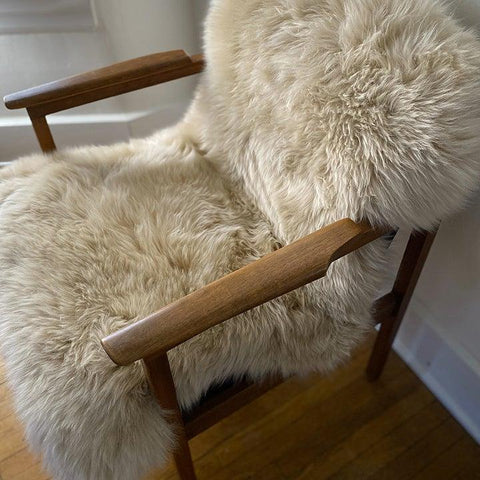 Sheepskin Chair Pelt