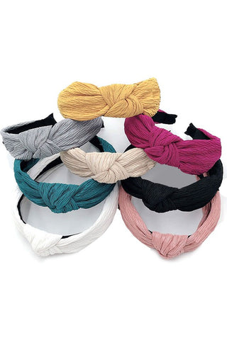 Crinkled Headbands