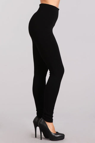 Black Tummy Tuck Leggings
