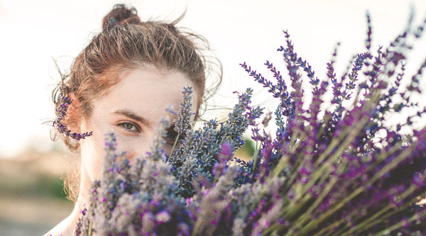 Learn more about the Healing Properties of Lavender For Your Mind, Body + Spirit on the SpaGoddess Apothecary Wellness Blog