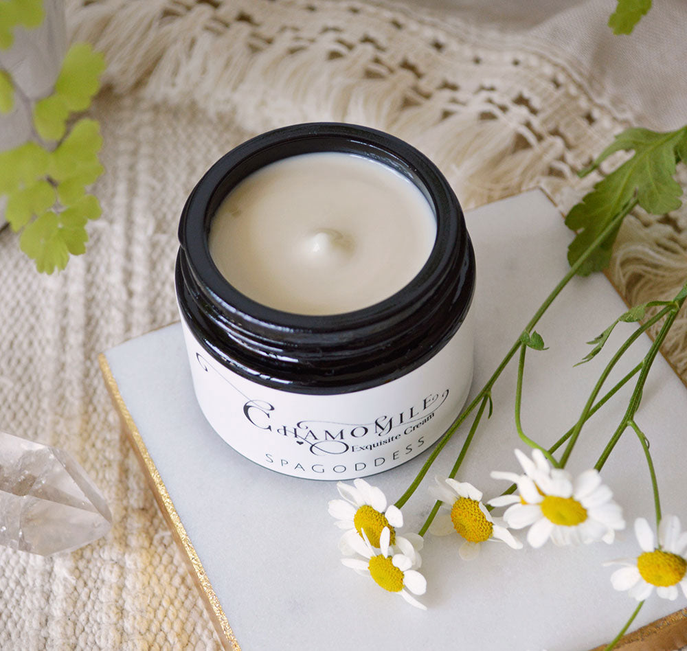 CHAMOMILE EXQUISITE ANTIOXIDANT CREAM by SpaGoddess Apothecary