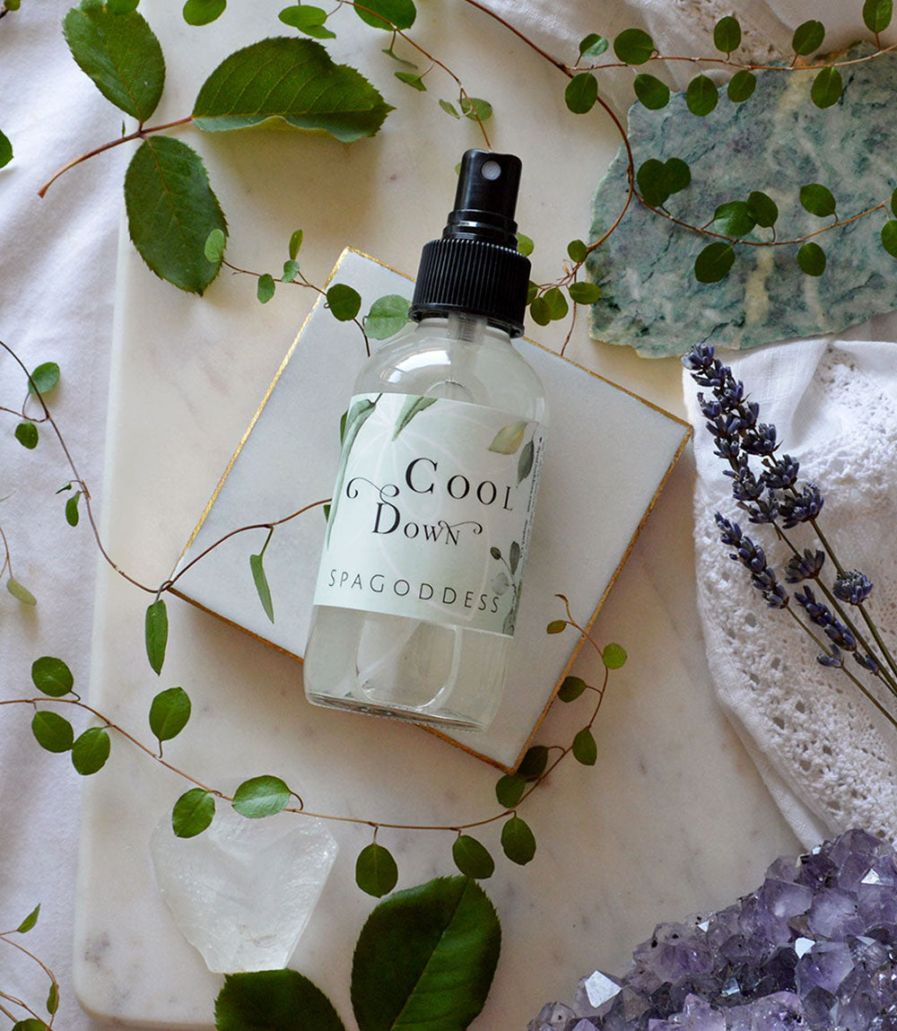COOL DOWN BOTANICAL ALCHEMY SKIN COOLING MIST by SpaGoddess Apothecary