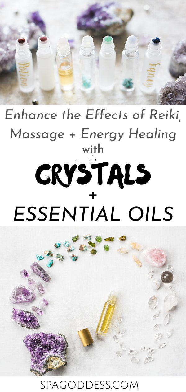 Enhance Your Energy Healing with Crystals + Essentials Oils