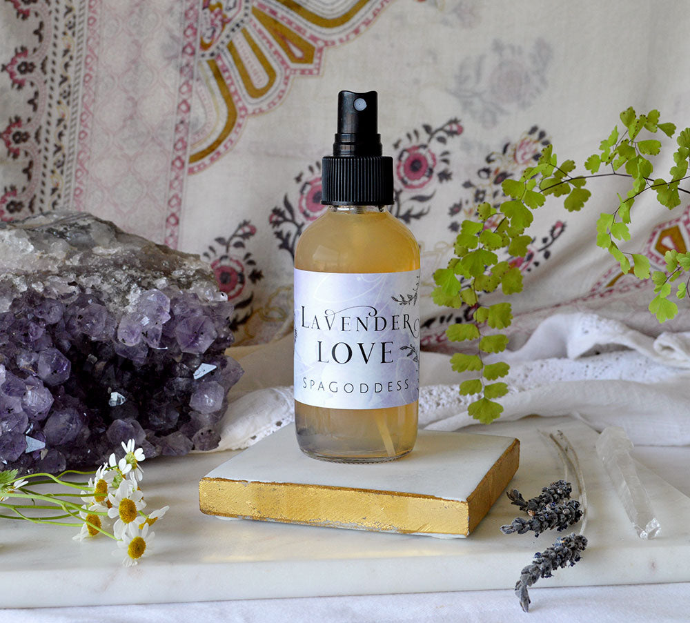 LAVENDER LOVE BALANCING ALCHEMY MIST by SpaGoddess Apothecary