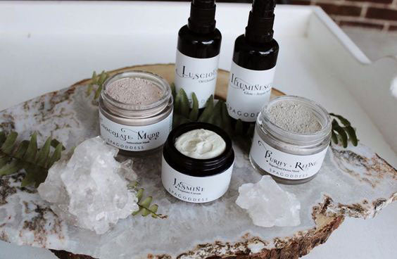SpaGoddess Apothecary Skincare Products