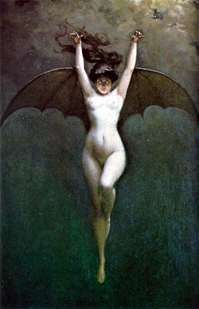 Bat Woman circa 1890 - Angel Face Botanicals