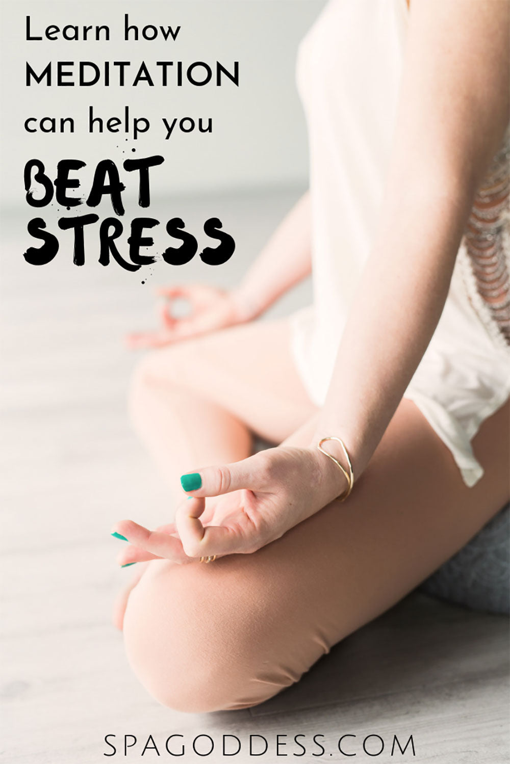 Learn how meditation can help you beat stress