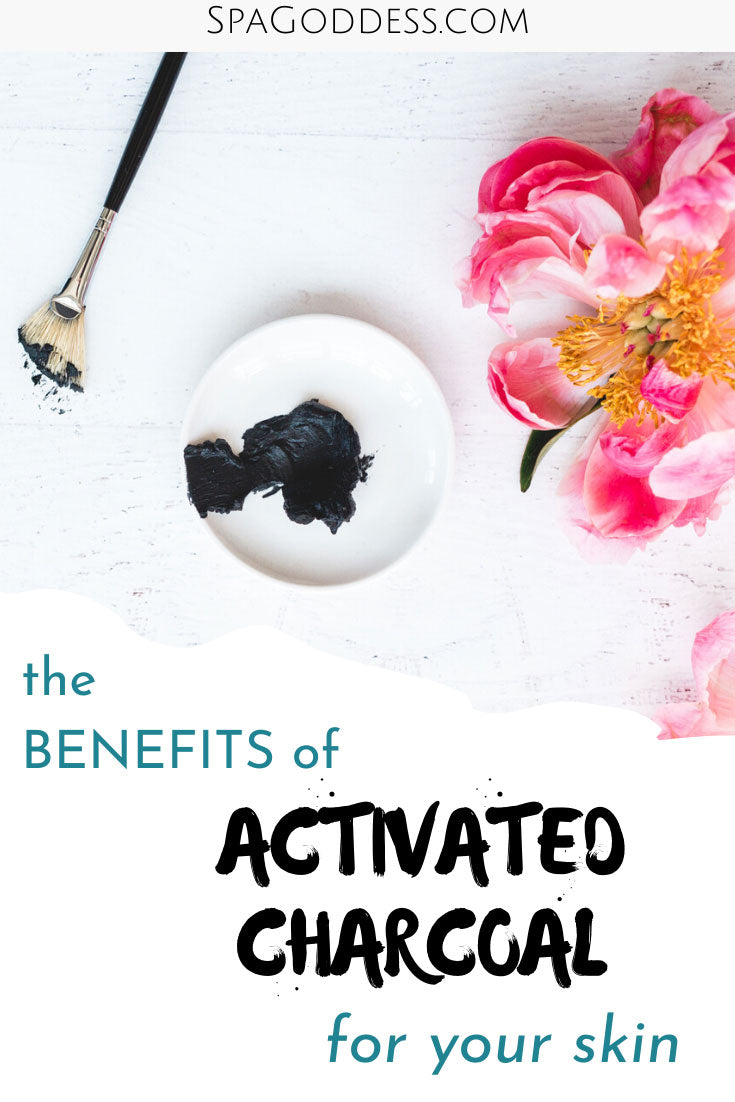 Learn all about the benefits of Activated Charcoal For Your Skin on SpaGoddess Blog