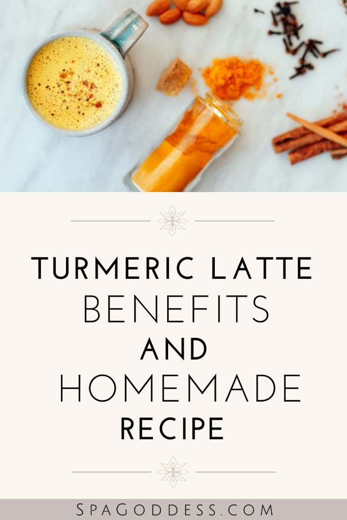 turmeric latte benefits recipe- spagoddess apothecary