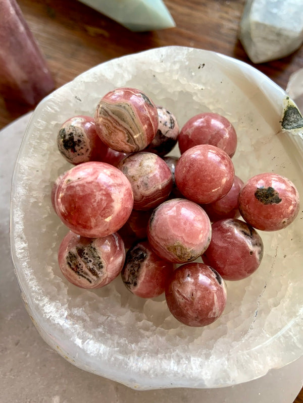 RHODOCHROSITE CRYSTAL Mini Spheres